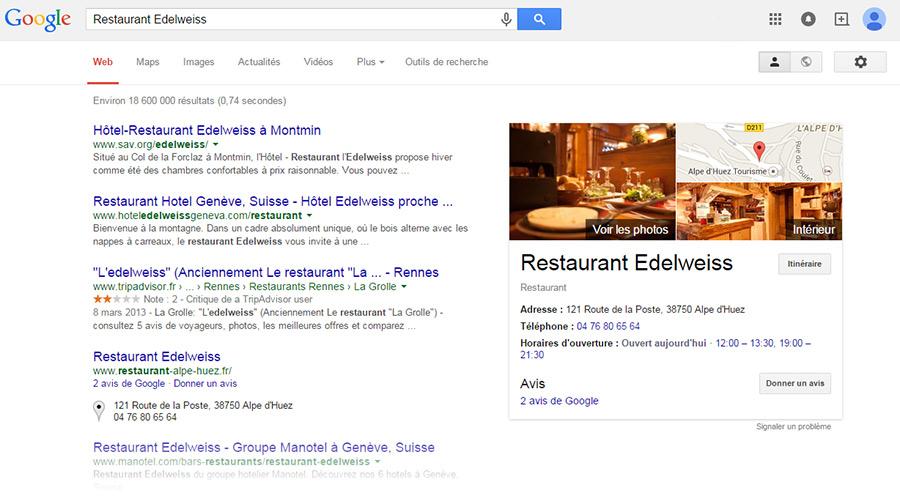SERP Restaurant Edelweiss