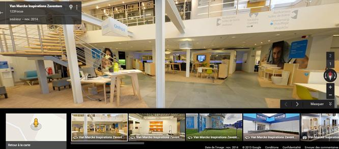 Vanmarcke Visite virtuelle Google